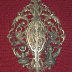 Antigüedades: TIRADOR DE BRONCE PRIMERA MITAD SIGLO XX. Lote 199637105