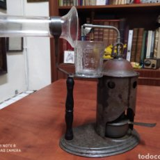 Antiquités: APARATO ANTIGUO PARA VAPOR , SIRVE PARA DESCONGESTIONAR.. Lote 199750816