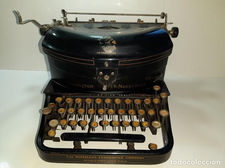 MÁQUINA ESCRIBIR ANTIGUA REMINGTON NOISELESS 5 (AÑOS 20) (Antigüedades - Técnicas - Máquinas de Escribir Antiguas - Remington)