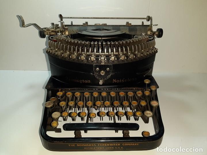 Antigüedades: Máquina escribir antigua Remington Noiseless 5 (años 20) - Foto 2 - 199753036