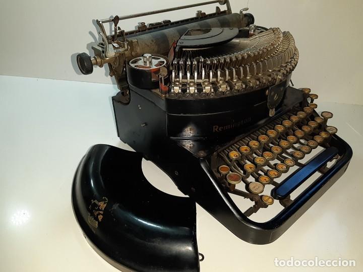Antigüedades: Máquina escribir antigua Remington Noiseless 5 (años 20) - Foto 3 - 199753036
