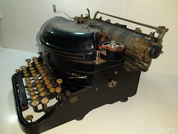 Antigüedades: Máquina escribir antigua Remington Noiseless 5 (años 20) - Foto 4 - 199753036