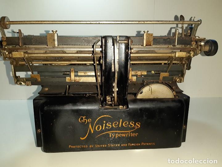 Antigüedades: Máquina escribir antigua Remington Noiseless 5 (años 20) - Foto 6 - 199753036