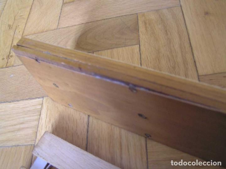 Antigüedades: 1936 TRES GRANDES REGLAS DE CÁLCULO EN SU COFRE DE MADERA REGLA SLIDE RULE RECHENSCHIEBE KEISANJYAKU - Foto 230 - 199770648