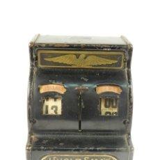 Antigüedades: HUCHA CAJA REGISTRADORA TIO SAM TIN TOY CASH REGISTER. Lote 199813322