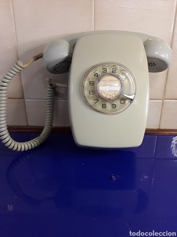 ANTIGUO TELÉFONO DE PARED (Antigüedades - Técnicas - Teléfonos Antiguos)
