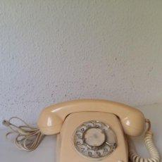 Teléfonos: TELEFONO ANTIGUO VINTAGE FUNCIONANDO AÑOS 60 VER FOTOS . Lote 199961456