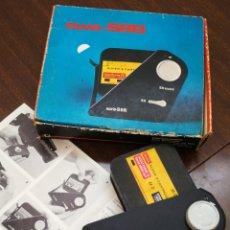 Antiguidades: REBOBINADOR EWA-S8B DE FILMS SUPER 8 CON CARTUCHO KODAK. CAJA E INSTRUCCIONES.. Lote 200018971