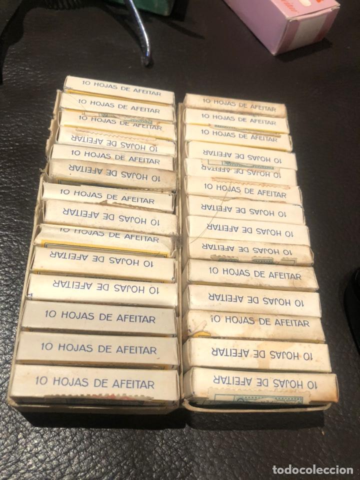Antigüedades: Hojas afeitar soldor hoja cuchilla cuchillas - Foto 2 - 200110730