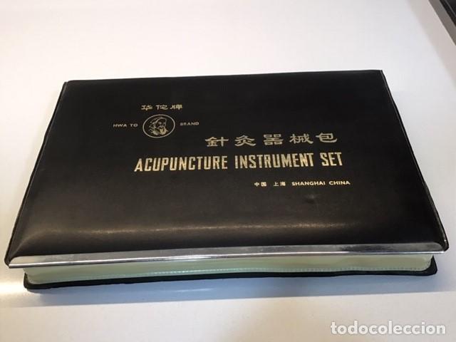 CAJA DE ACUPUNTURA (Antigüedades - Técnicas - Herramientas Profesionales - Medicina)
