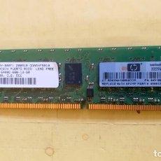 Antigüedades: MEMORIA SIMM HP - 1 GIGA - DDR2 - 800 MHZ - CV. Lote 200187442