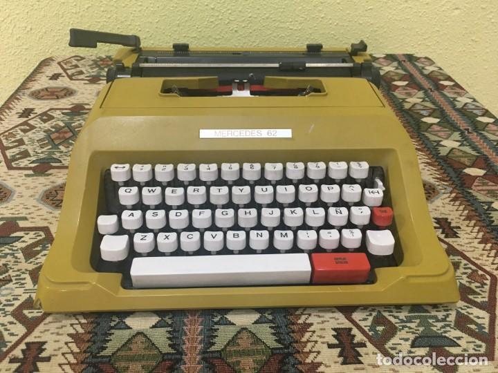 MÁQUINA DE ESCRIBIR MERCEDES (Antigüedades - Técnicas - Máquinas de Escribir Antiguas - Mercedes)