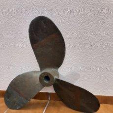 Antigüedades: GRAN HÉLICE DE BARCO , EN BRONCE , 40 KILOS, DIÁMETRO TOTAL , 85 CM.. Lote 192806097