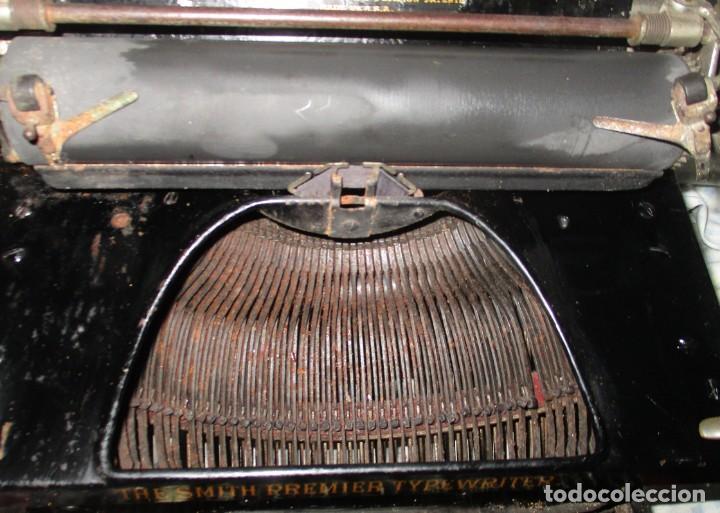 Antigüedades: MÁQUINA DE ESCRIBIR SMITH PREMIER MODELO 10-A. DOBLE TECLADO. - Foto 12 - 200280883