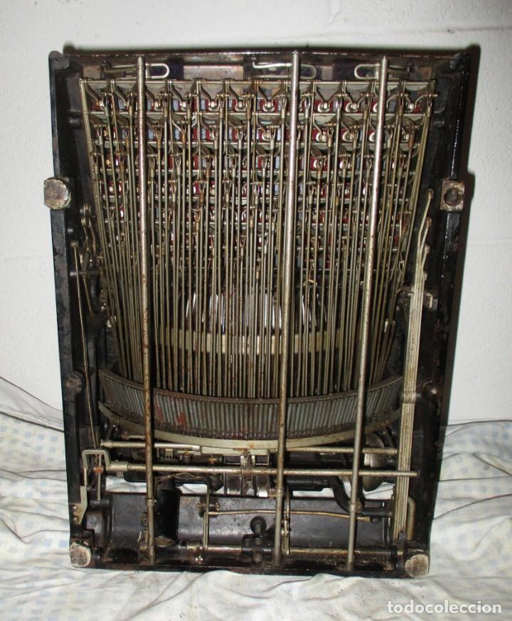 Antigüedades: MÁQUINA DE ESCRIBIR SMITH PREMIER MODELO 10-A. DOBLE TECLADO. - Foto 13 - 200280883
