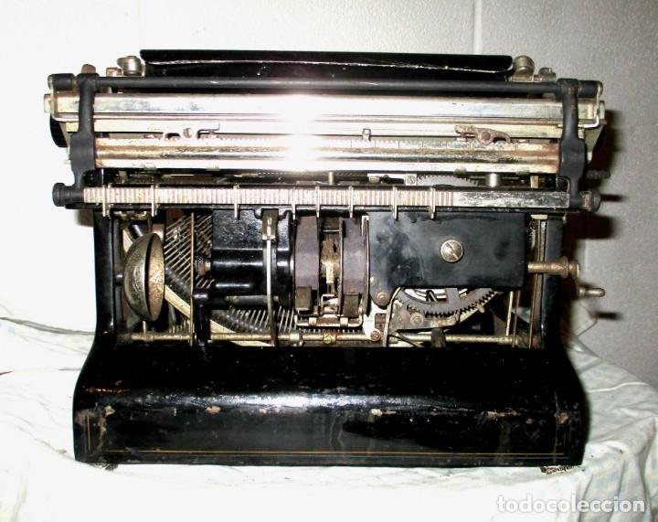 Antigüedades: MÁQUINA DE ESCRIBIR SMITH PREMIER MODELO 10-A. DOBLE TECLADO. - Foto 14 - 200280883