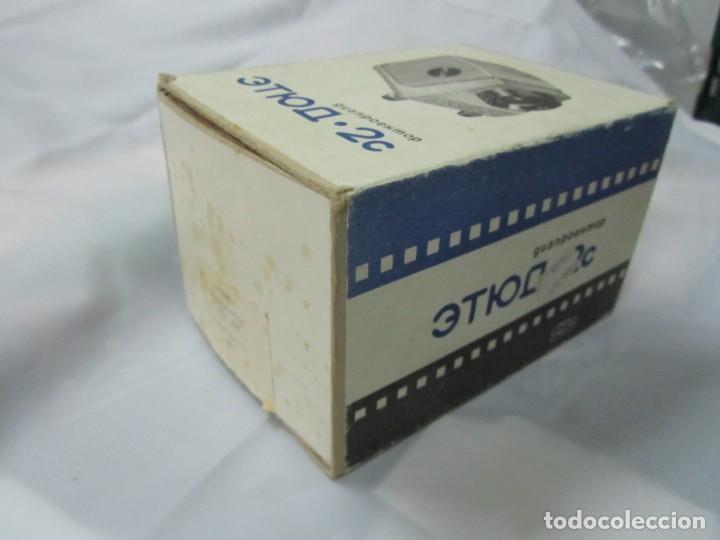 Antigüedades: PROYECTOR DE DIAPOSITIVAS SOVIETICO ETUDE 2C - Foto 3 - 200324525