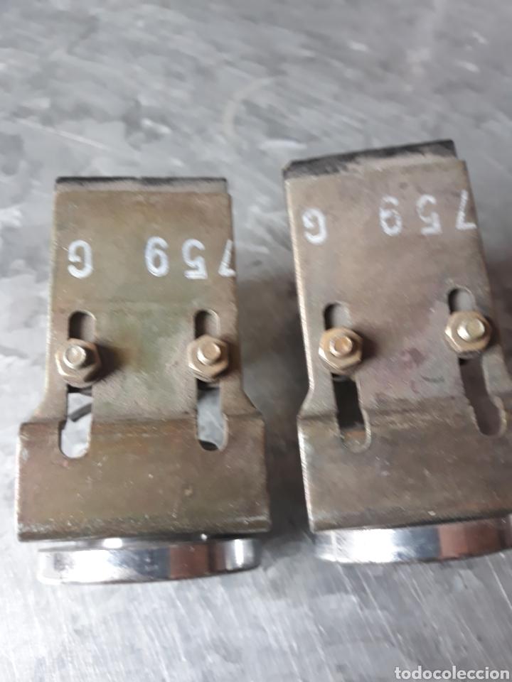 Antigüedades: Pareja de pulsadores máquina mecanismo - Foto 4 - 200326288