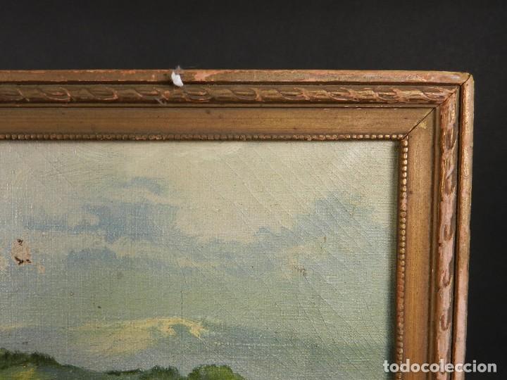 Antigüedades: PINTURA FABRICA DE LA MAQUINA DE ESCRIBIR CORONA TYPEWRITER Cº SCHREIBMASCHINE - Foto 6 - 200328260
