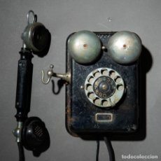 Teléfonos: TELEFONO ANTIGUO L.M. ERICSSON & CO. - STOCKHOLM, TYPE DE100 - AÑO APROXIMADO 1925 - B. Lote 200346797