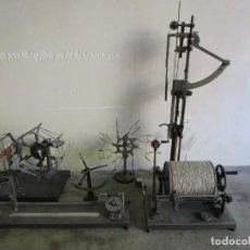 Antigüedades: COLECCIÓN DE MAQUINAS DE HILATURA - METAL - ANTIGUA INDUSTRIA, HILATURA - PRINCIPIOS S. XX. Lote 200368645