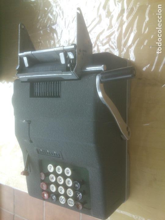 Antigüedades: Calculadora de Comercio Manual marca Precisa Años 60 fabricada en Suiza. - Foto 4 - 200400522