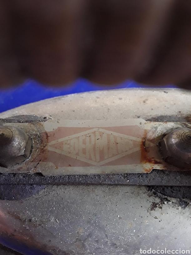 Antigüedades: Antigua plancha eléctrica EDERMAN años 40 - Foto 4 - 200528201