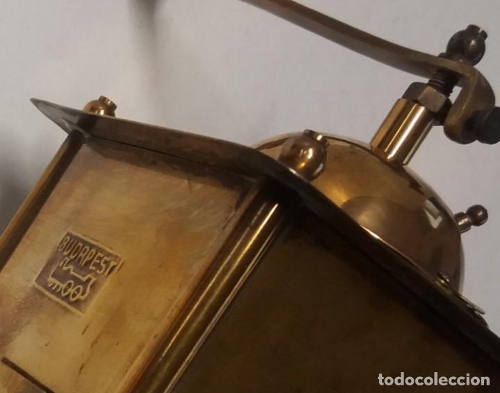 Antigüedades: ANTIGUO Y PRECIOSO MOLINILLO DE LATON DORADO AÑOS 30s - Foto 25 - 200538097