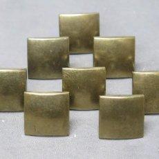 Antigüedades: 10 TIRADORES DE BRONCE. NAVARRO AZORIN. Lote 200648586