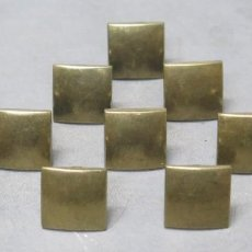 Antigüedades: 10 TIRADORES DE BRONCE. NAVARRO AZORIN. Lote 200648615
