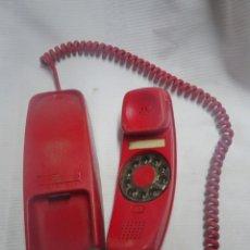 Teléfonos: ANTIGUO TELÉFONO DE PARED , MODELO GÓNDOLA , ROJO , VER FOTOS. Lote 200741306