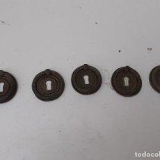Antigüedades: TIRADORES 5. Lote 200797478