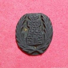 Antigüedades: ANTIGUO TAMPON SELLO TIPOGRAFICO IMPRENTA..ESCUDO AYUNTAMIENTO DE LA FATARELLA ( TARRAGONA). Lote 200841160