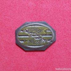 Antigüedades: ANTIGUO TAMPON SELLO TIPOGRAFICO IMPRENTA..ESCUDO AJUNTAMENT BARBERA DE LA CONCA ( TARRAGONA). Lote 200842045