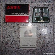 Antigüedades: EMPALMADORA ESWN UNIVERSAL FILM SPLICER.. Lote 201187816