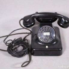 Teléfonos: ANTIGUO CLASICO SIEMENS TELEFONO DE DIAL ROTATIVO W48 MT, NEGRO FUNCIONANDO 170,00 €. Lote 201195172