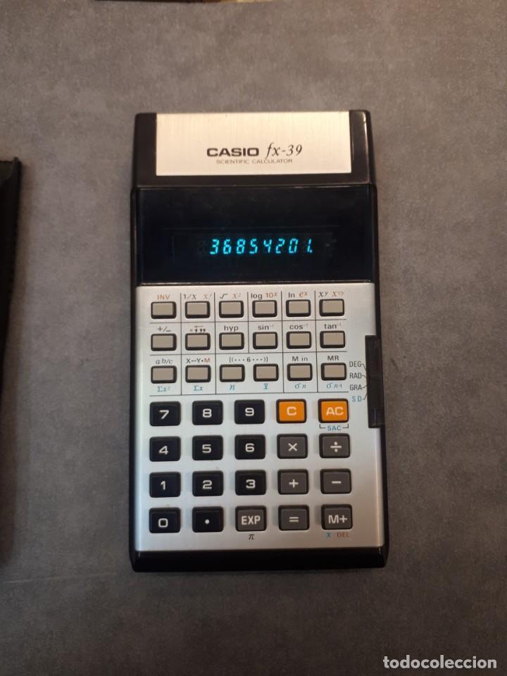 CASIO FX 39 (Antigüedades - Técnicas - Aparatos de Cálculo - Calculadoras Antiguas)