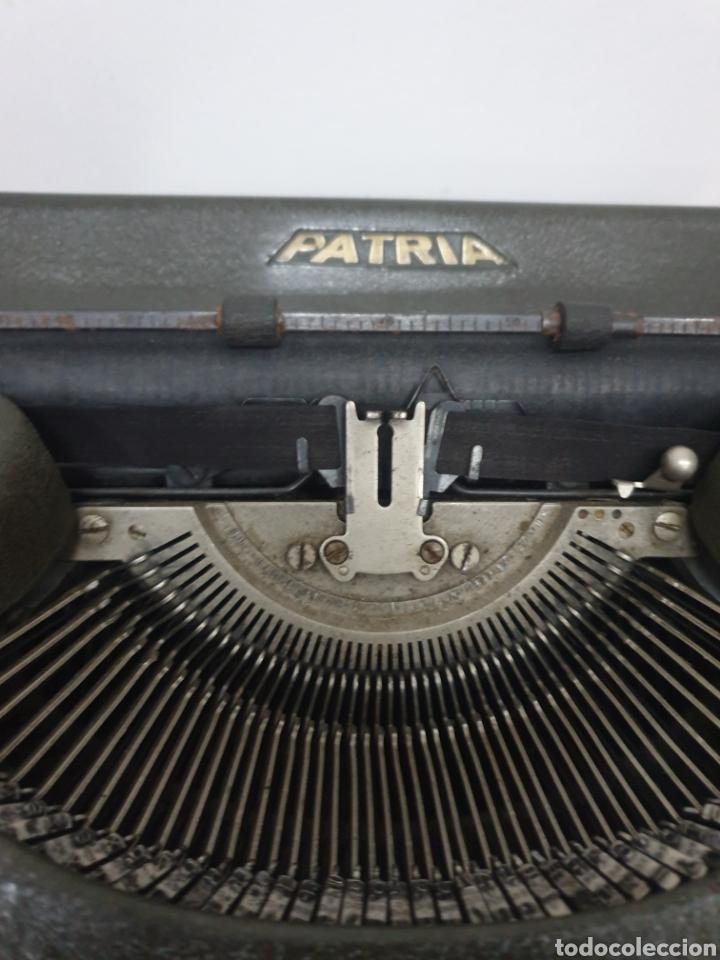 Antigüedades: MAQUINA DE ESCRIBIR PATRIA - Foto 3 - 201205453