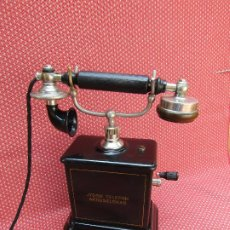 Teléfonos: ANTIGUO TELÉFONO DE LA MARCA JYDSK FABRICADO EN DINAMARCA, A PRINCIPIOS DE SIGLO XX.. Lote 97485735