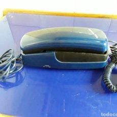 Teléfonos: TELÉFONO DE GÓNDOLA AZUL. Lote 201238536
