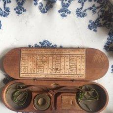 Antigüedades: BALANZA DE PRECISIÓN PARA MONEDAS DE ORO - S. XVIII. Lote 201243208