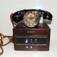 Teléfonos: RARO TELEFONO MADERA Y BAQUELITA, DICTOGRAPH, VER FOTOS .W. Lote 201249032