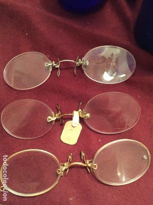 LENTES ANTIGUAS QUEVEDOS (Antigüedades - Técnicas - Instrumentos Ópticos - Gafas Antiguas)