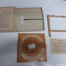 Antigüedades: TRANSPORTADOR J. PUENTE. Lote 201325080