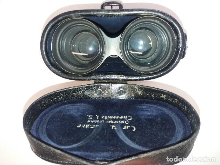 Antigüedades: MUY ANTIGUOS PRISMATICOS ALEMANES BINOCULARES 1915 - Foto 20 - 201338193