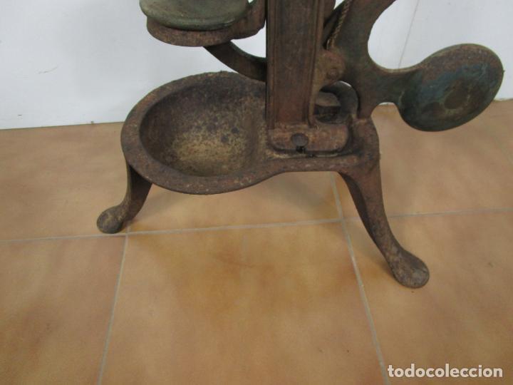 Antigüedades: Antigua Máquina Encorchadora Manual - para Embotellar - Hierro Fundido - Principios S. XX - Foto 3 - 201341120