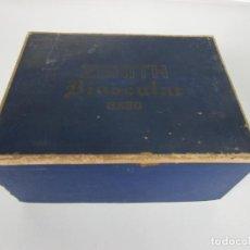 Antigüedades: CAJA - ZENITH BINOCULAR 8X30 - PRISMÁTICOS. Lote 201343583