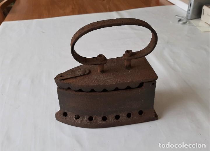 ANTIGUA PLANTA DE CARBON (Antigüedades - Técnicas - Planchas Antiguas - Carbón)