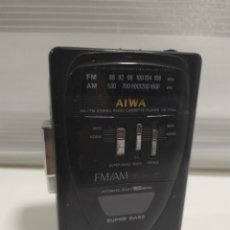 Antigüedades: WALKMAN AIWA MODEL HS -T110A STEREO RADIO CASSTTE PLAYER.. Lote 201552787