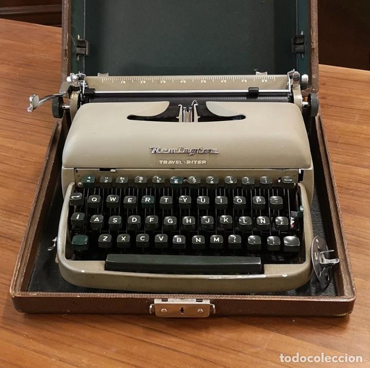 MÁQUINA DE ESCRIBIR REMINGTON TRAVEL RITER (Antigüedades - Técnicas - Máquinas de Escribir Antiguas - Remington)